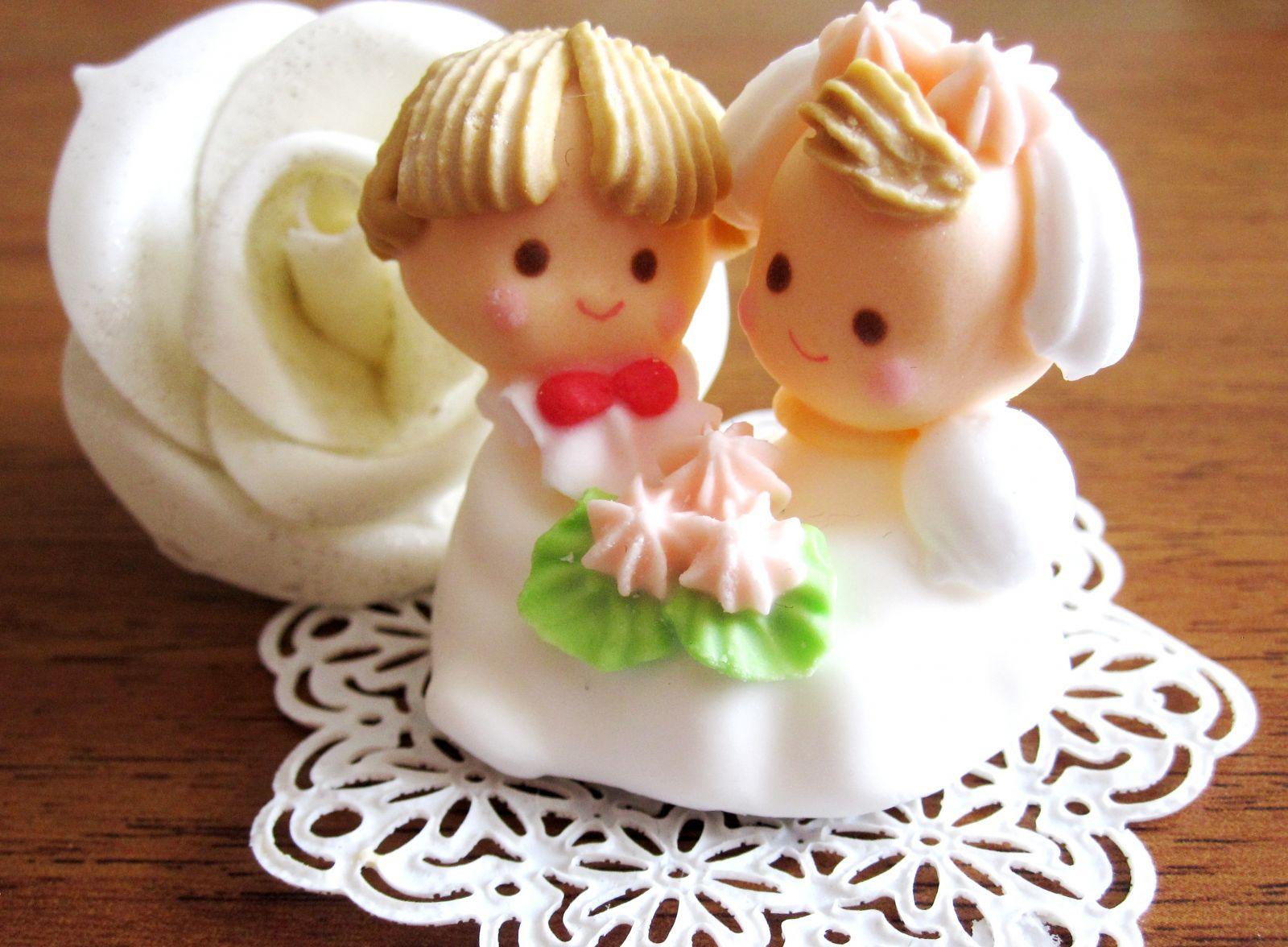 Свадебные торты и цветы из домашней мастики своими руками